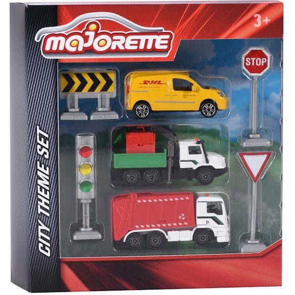set masinute city vehicles majorette