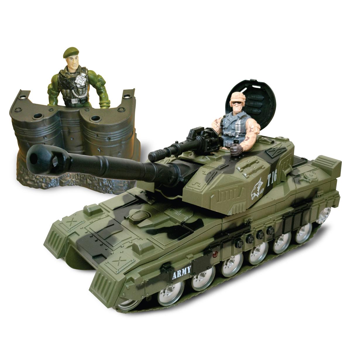 Set militar cu tanc si figurine Cool Machines
