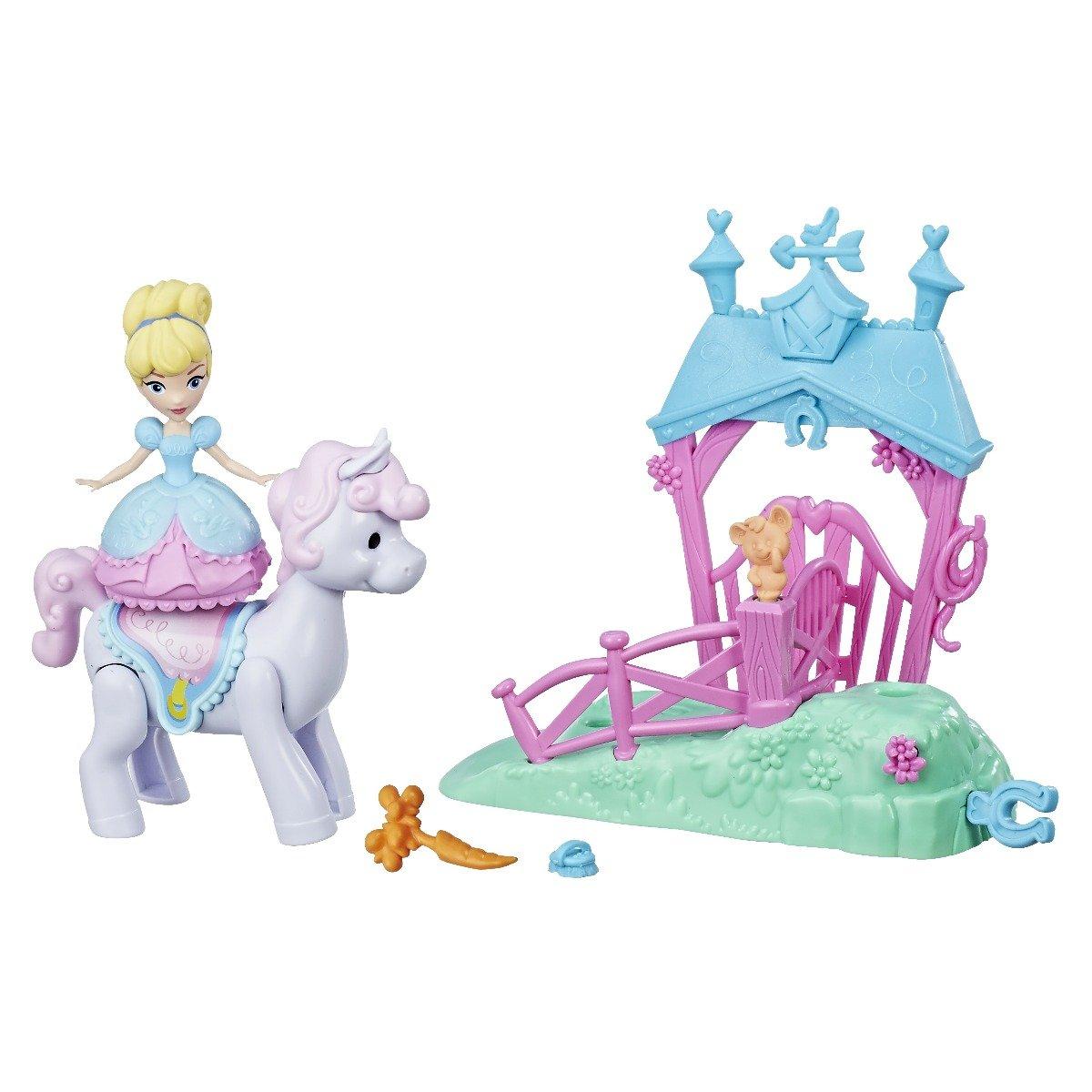 Set mini papusa cu miscari magice Cinderella Disney Princes