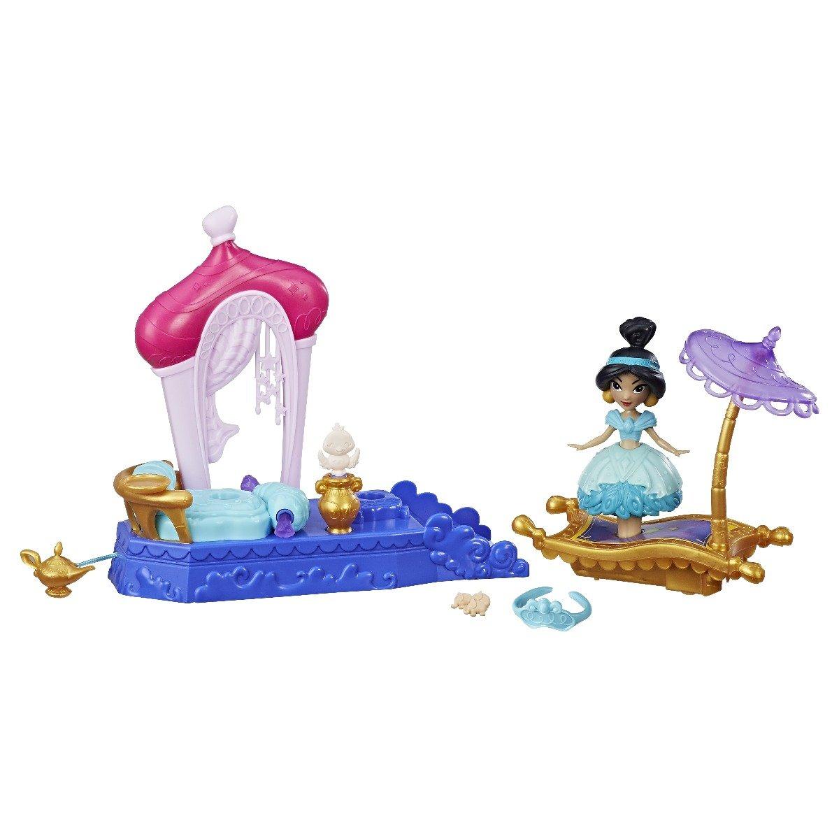 Set Mini Papusa Cu Miscari Magice Jasmine Disney Princes