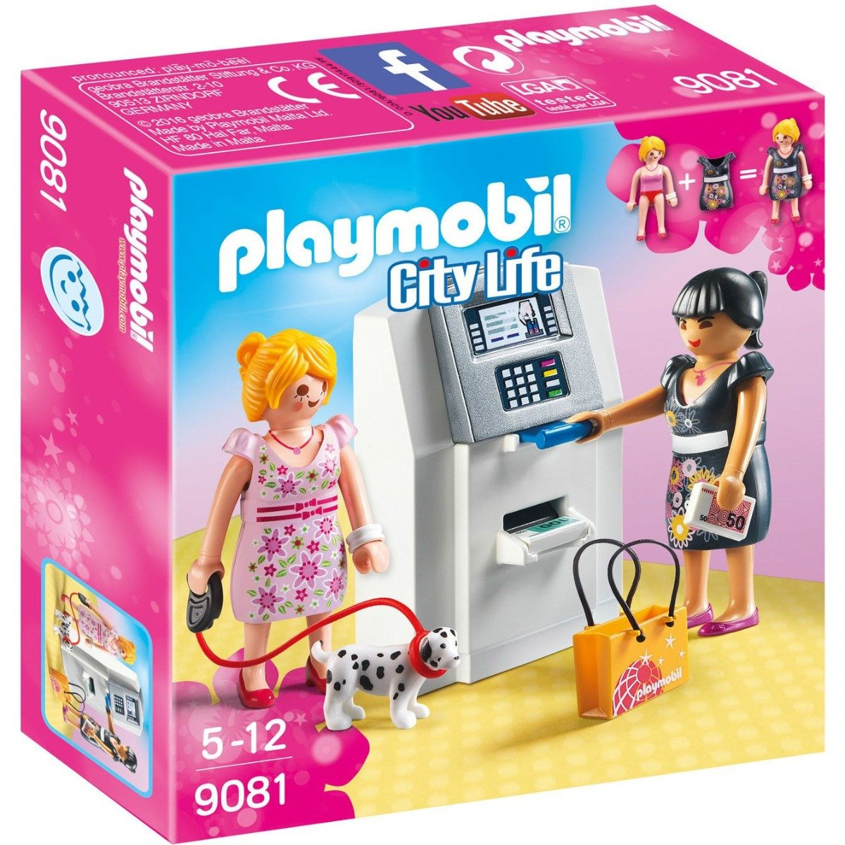Set Playmobil City Life - Bancomat (9081)