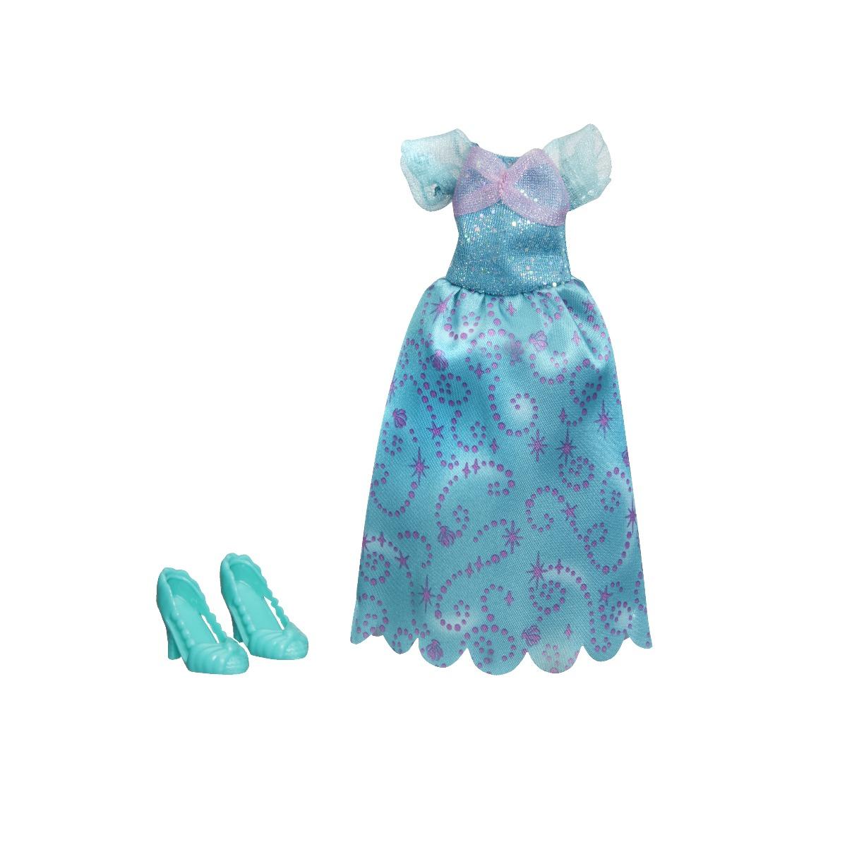 Set rochita si pantofi printesa Disney Princess - Ariel