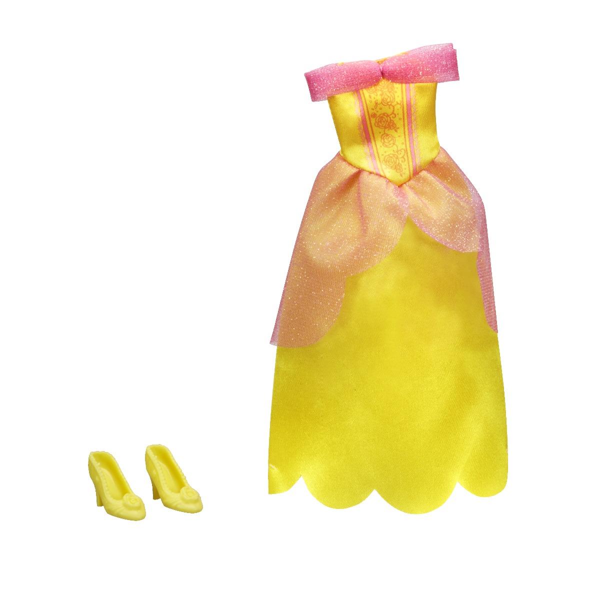 Set rochita si pantofi printesa Disney Princess - Belle