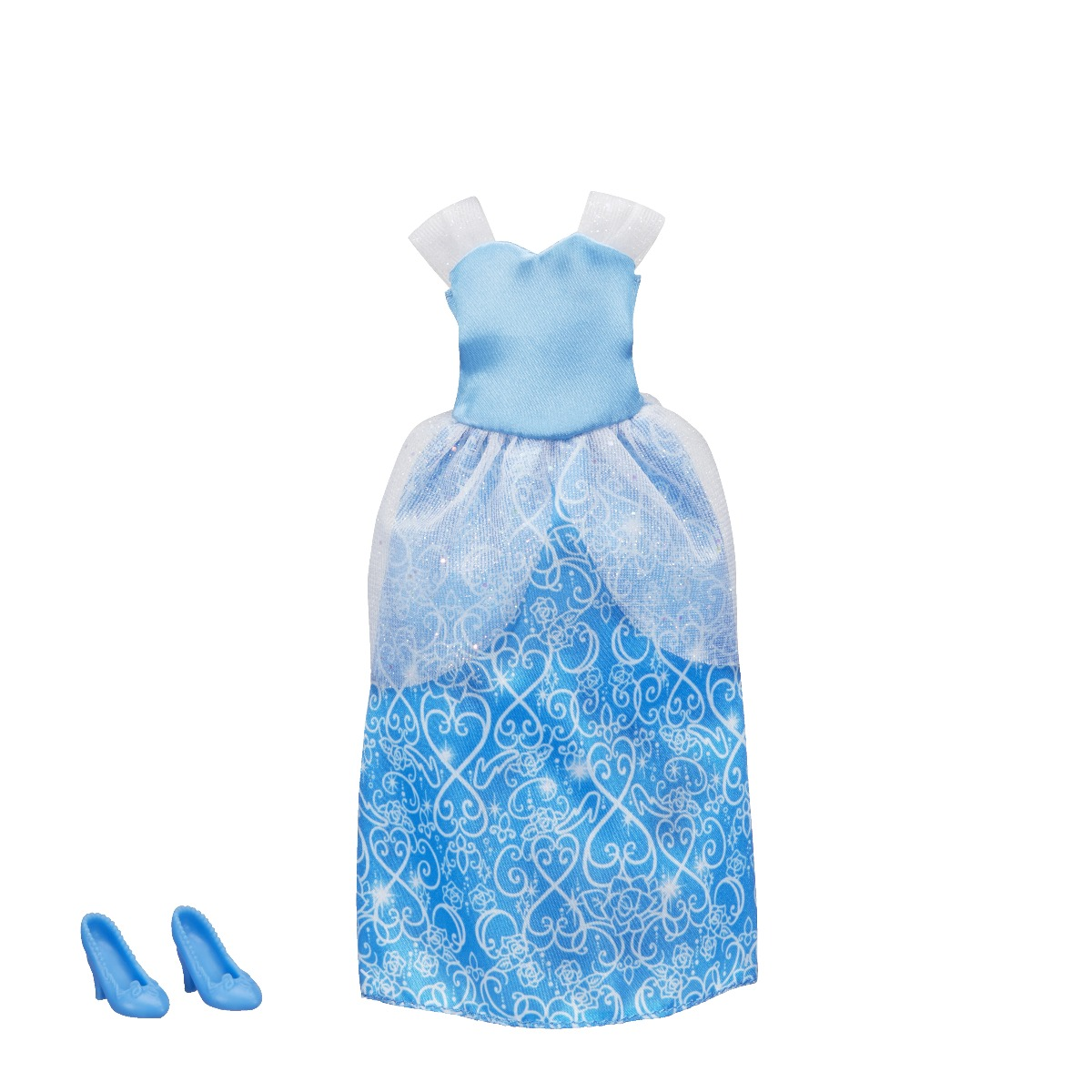 Set rochita si pantofi printesa Disney Princess - Cinderella