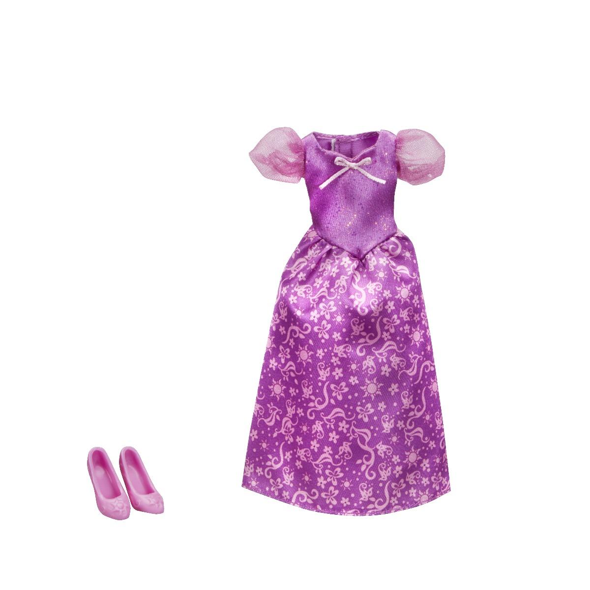 Set rochita si pantofi printesa Disney Princess - Rapunzel