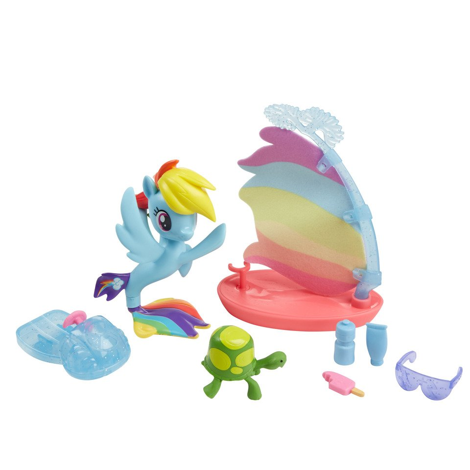 Set tematic cu figurine My Little Pony - Rainbow Dash
