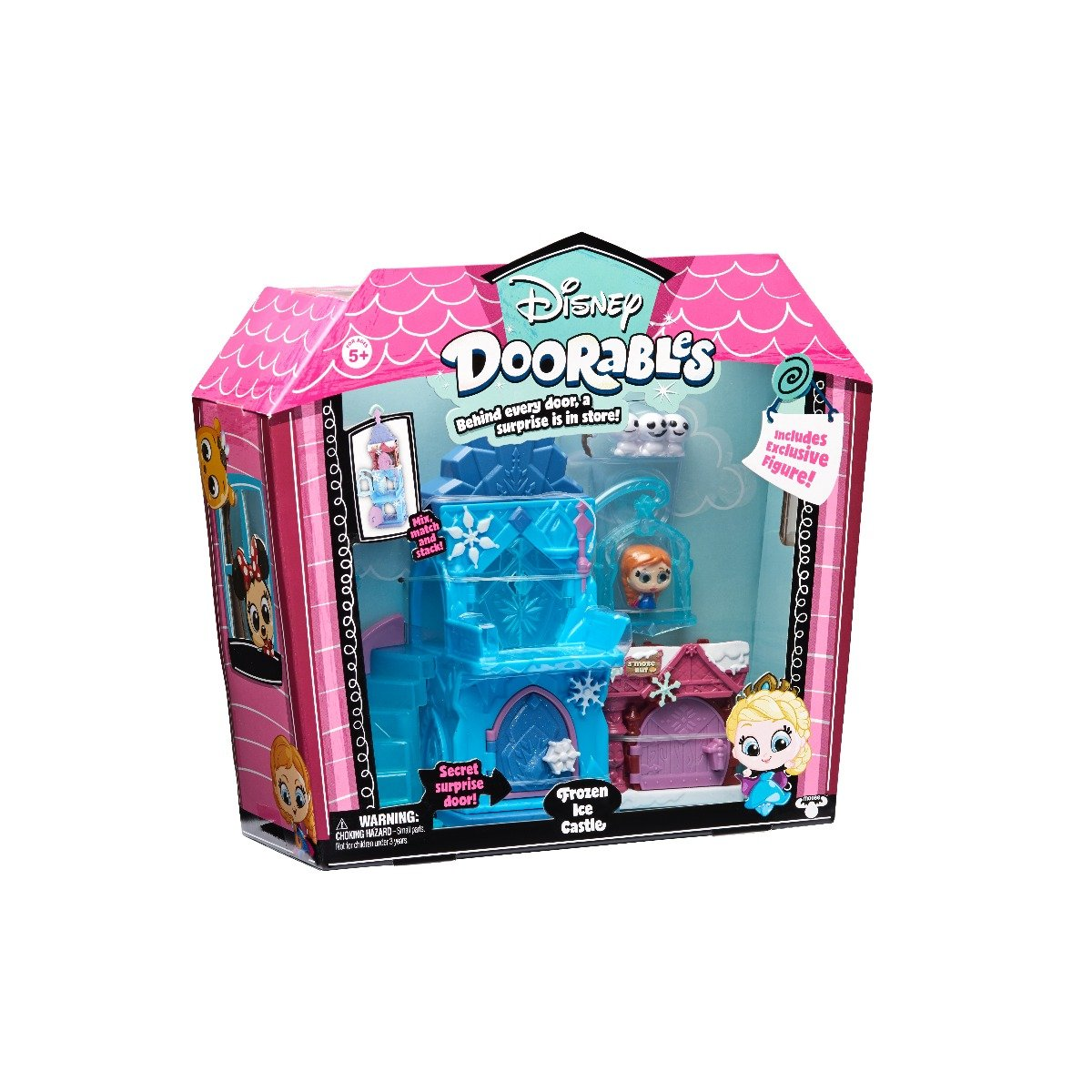 Set tematic de joaca Disney Doorables Frozen Ice Castle 69408
