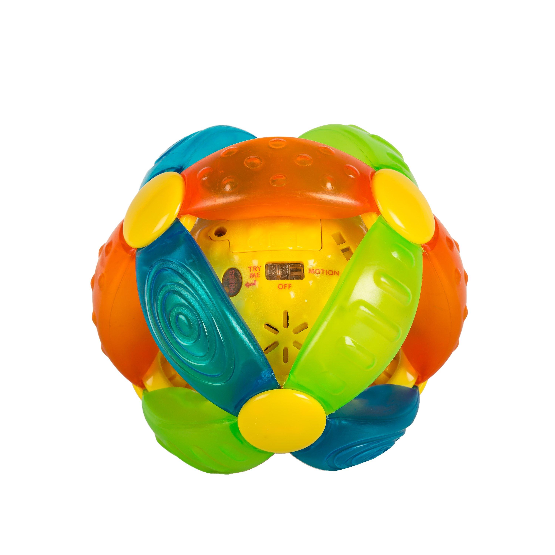 jucarie bebelusi b-kids - sfera cu lumini si sunete