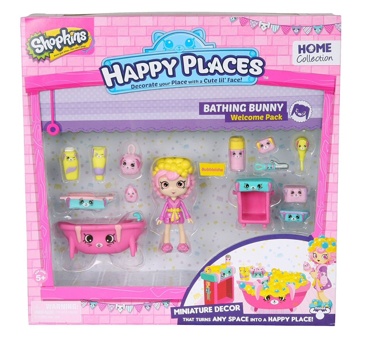 Set Papusa Shopkins Happy Places - Bathroom