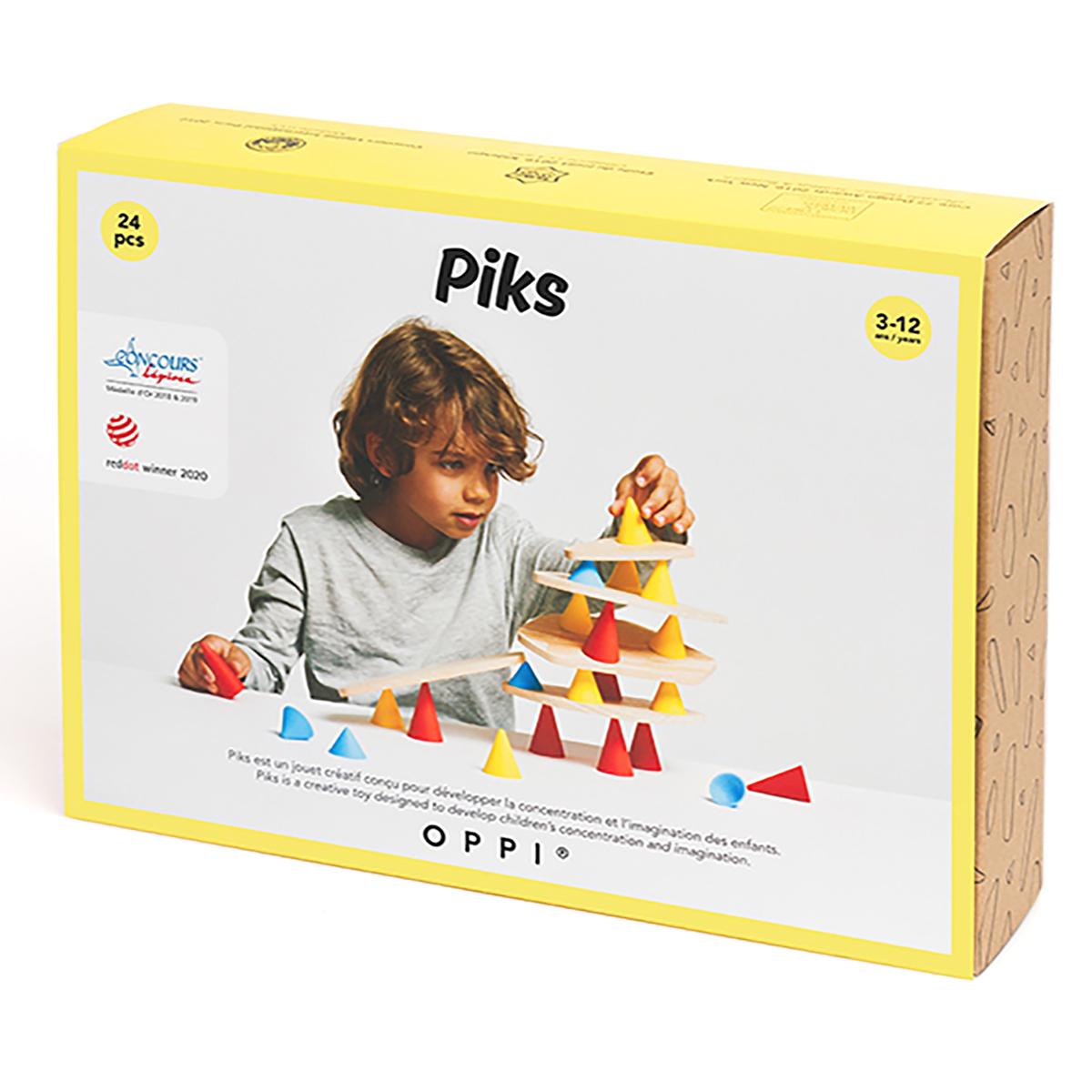 Joc educativ Piks, Kit mic, 24 piese