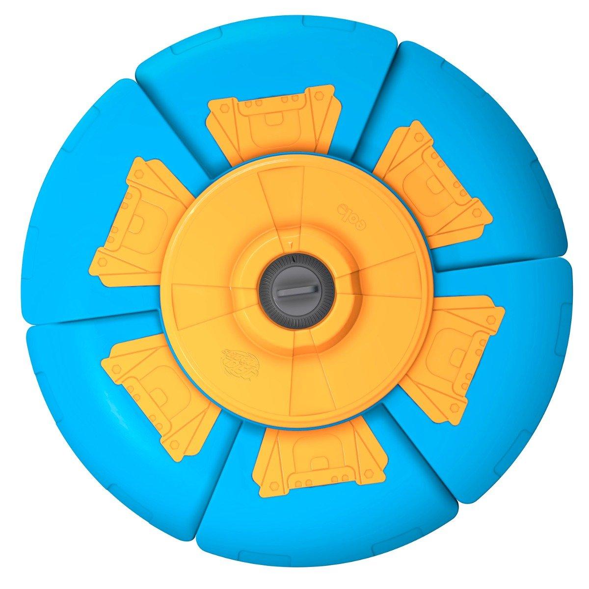 Disc zburator cu timer Slider Disc, Albastru