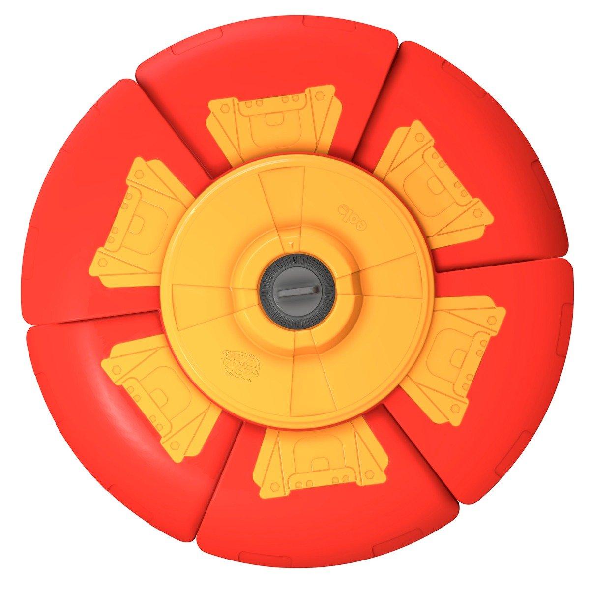Disc zburator cu timer Slider Disc, Rosu