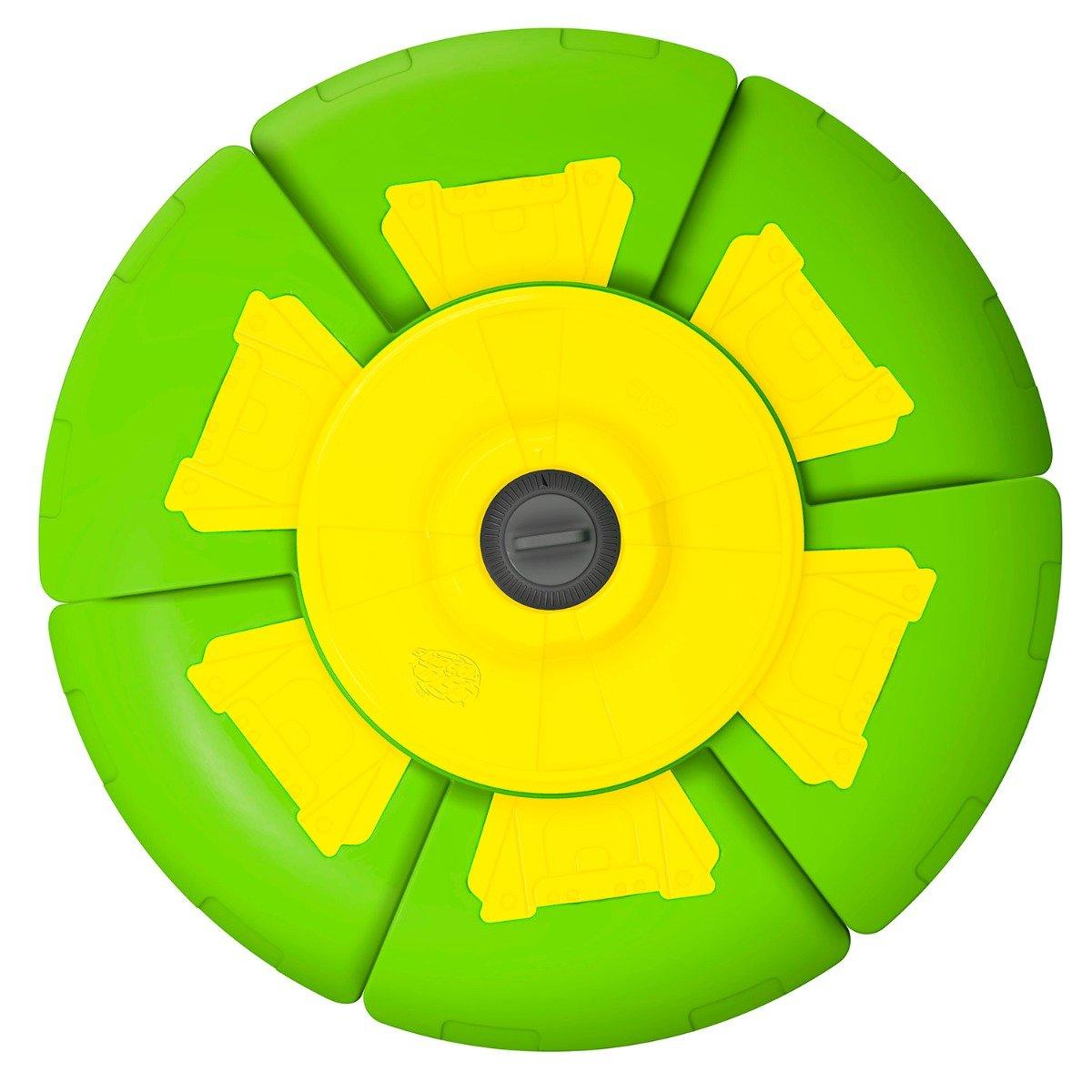 Disc zburator cu timer Slider Disc, Verde