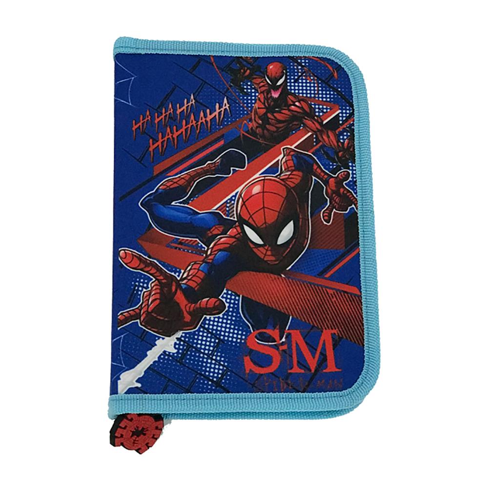 Penar cu fermoar si doua flapsuri Spiderman