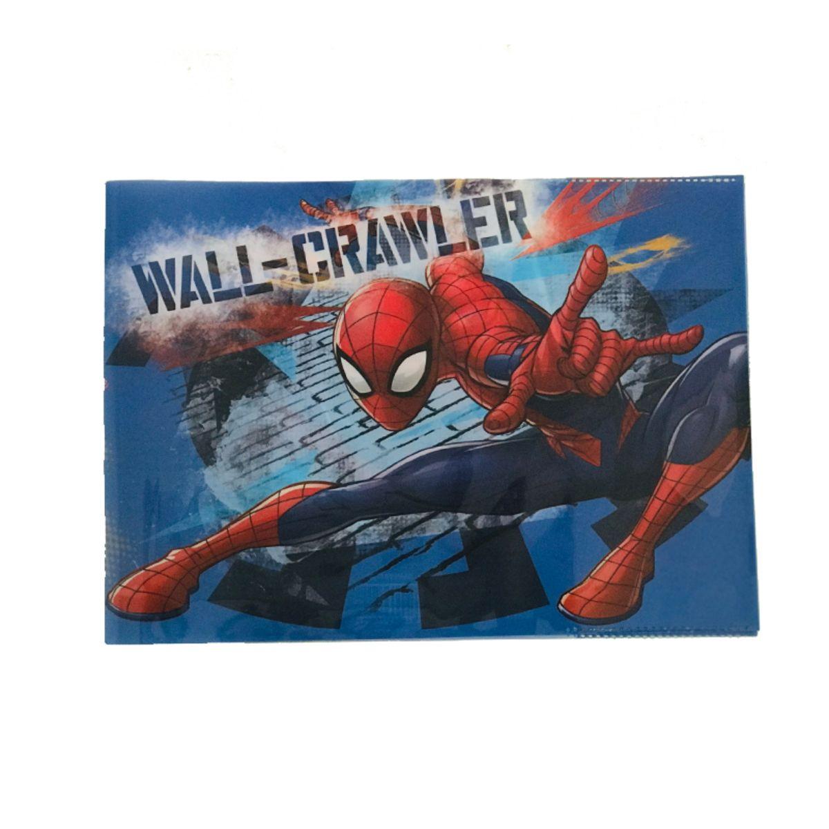 Coperta Spiderman pentru caiet de muzica, biologie, geografie