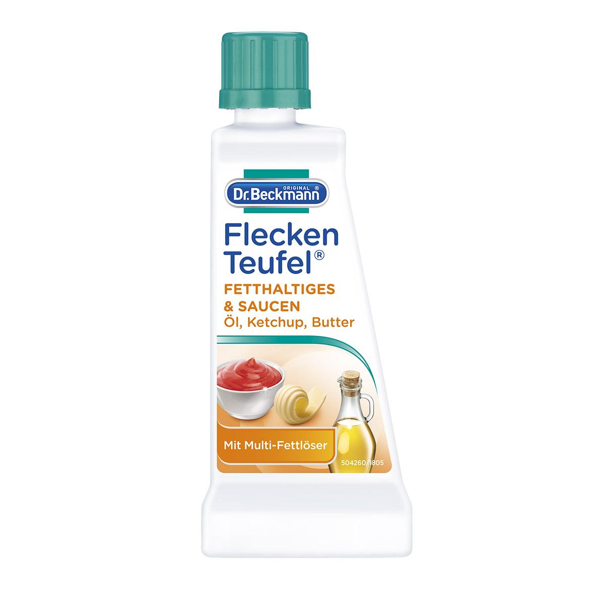 Solutie pentru indepartarea petelor de grasimi si sosuri Dr. Beckmann, 50 ml imagine 2021