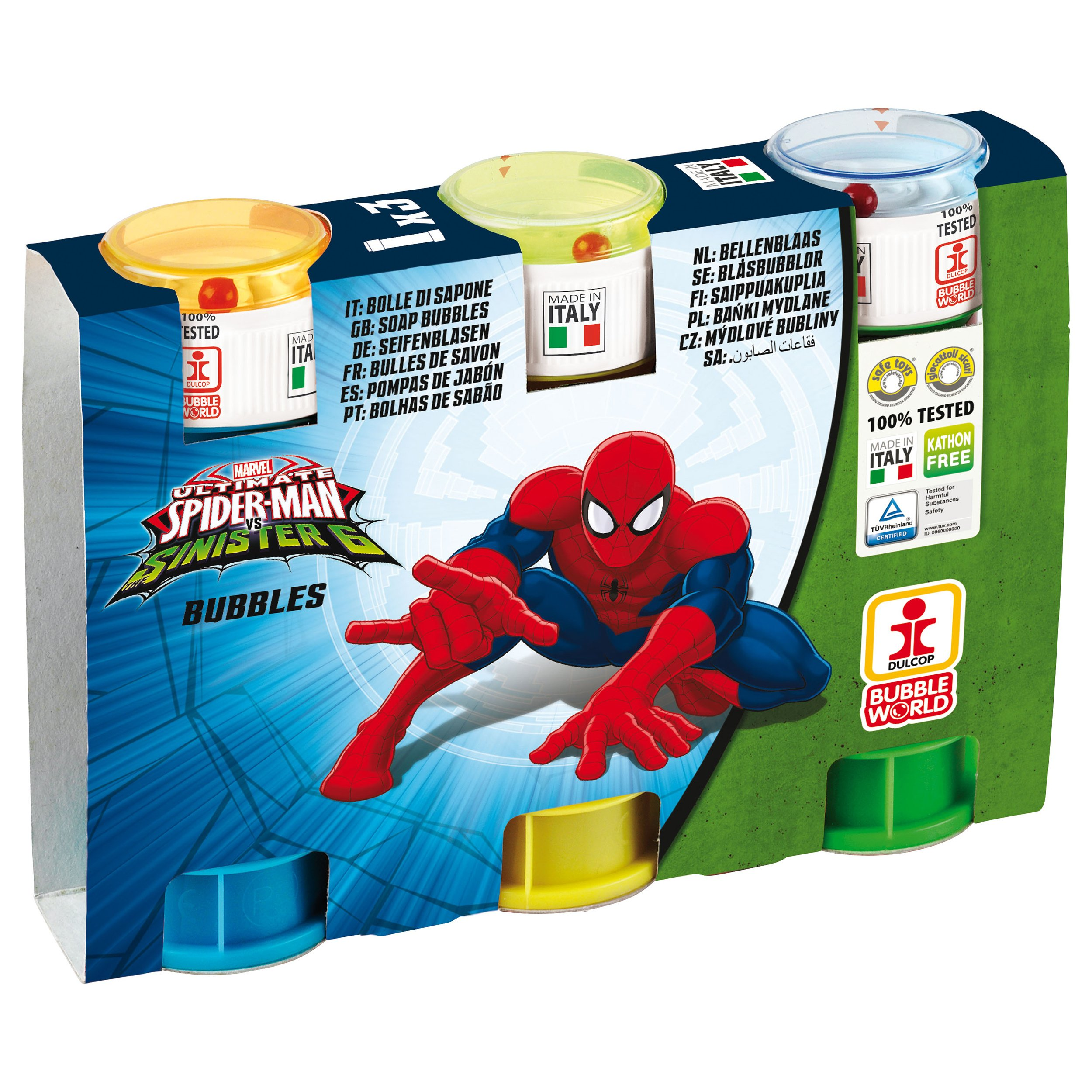 Spiderman - Set 3 tuburi baloane de sapun