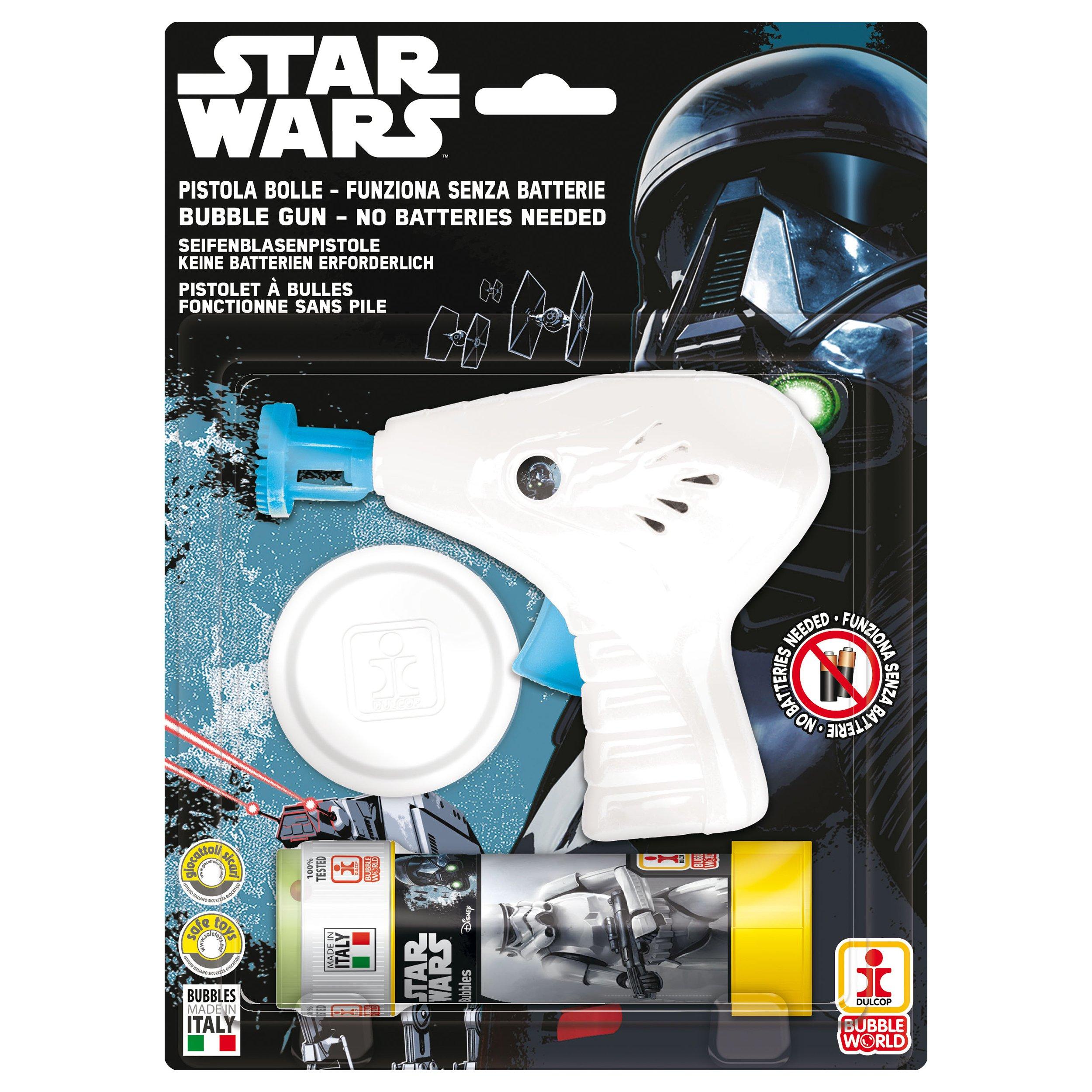 Star Wars - Pistol baloane de sapun, alb imagine