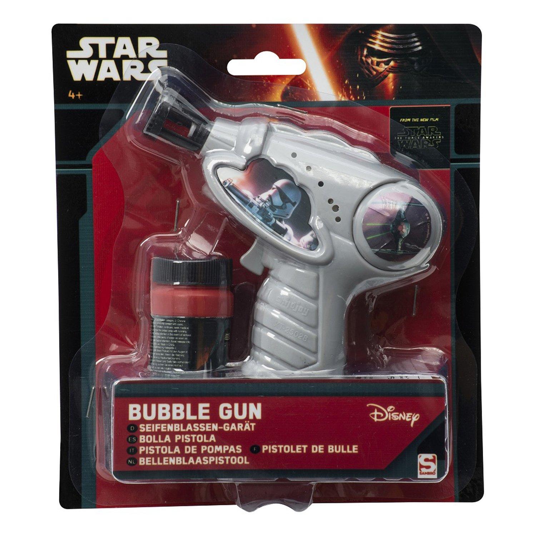 star wars - pistol baloane de sapun, gri