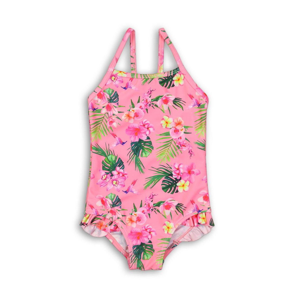 costum de baie fete cu imprimeu minoti swim, roz
