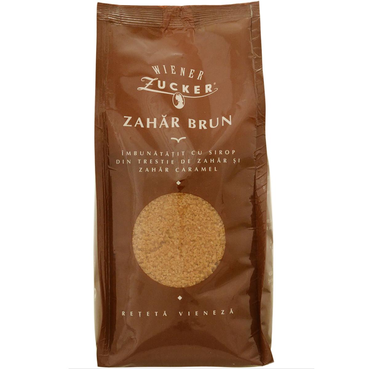 Zahar brun Weiner, 500 g imagine