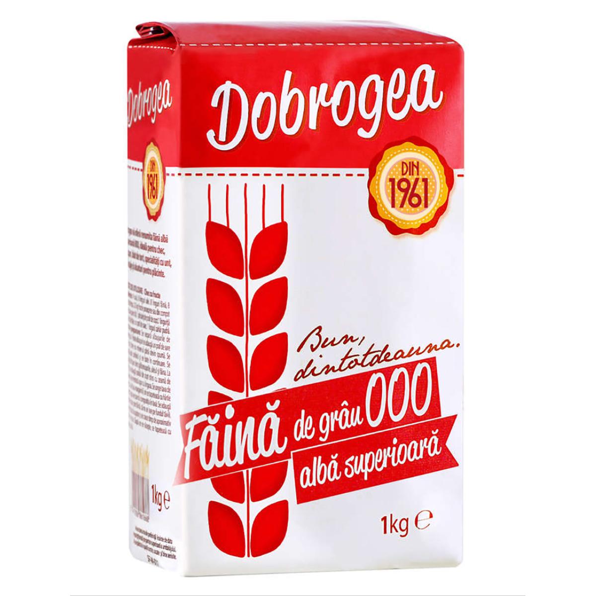 Faina de grau 000 alba superioara Dobrogea, 1 kg imagine