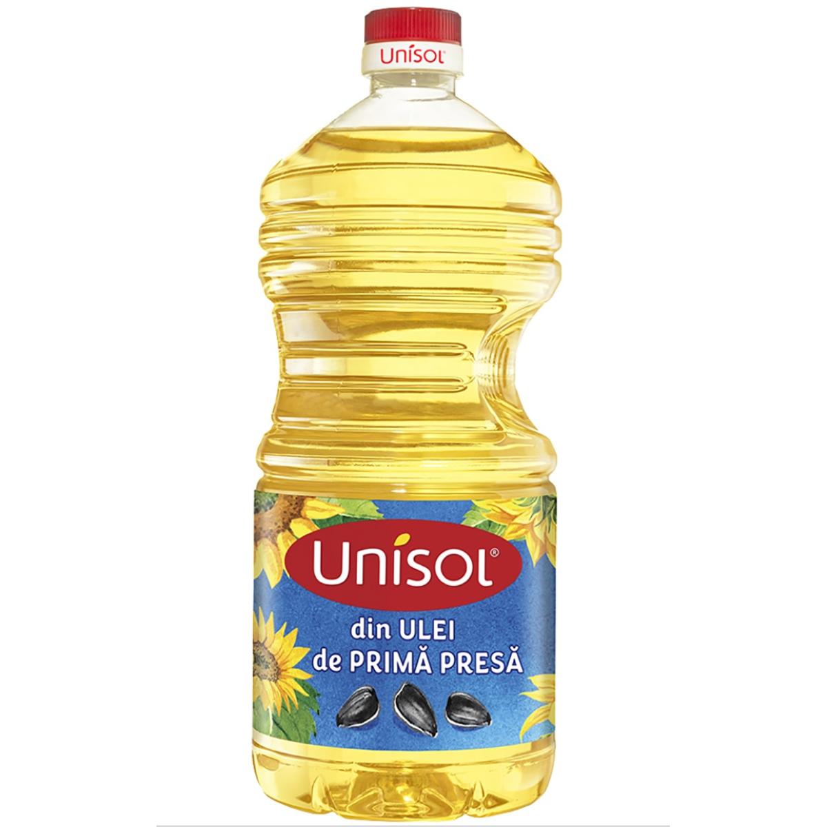 Ulei de floarea soarelui Unisol, 2 L imagine