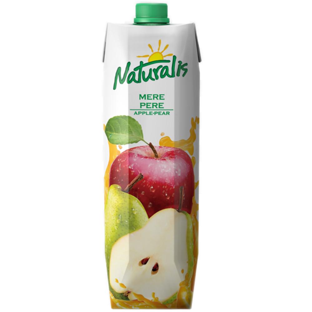 Nectar de mere si pere Naturalis, 1 L imagine