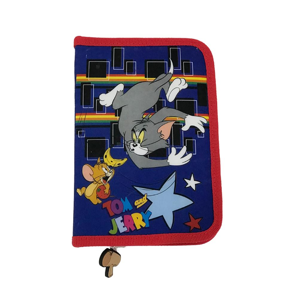 Penar cu fermoar si doua flapsuri Tom and Jerry