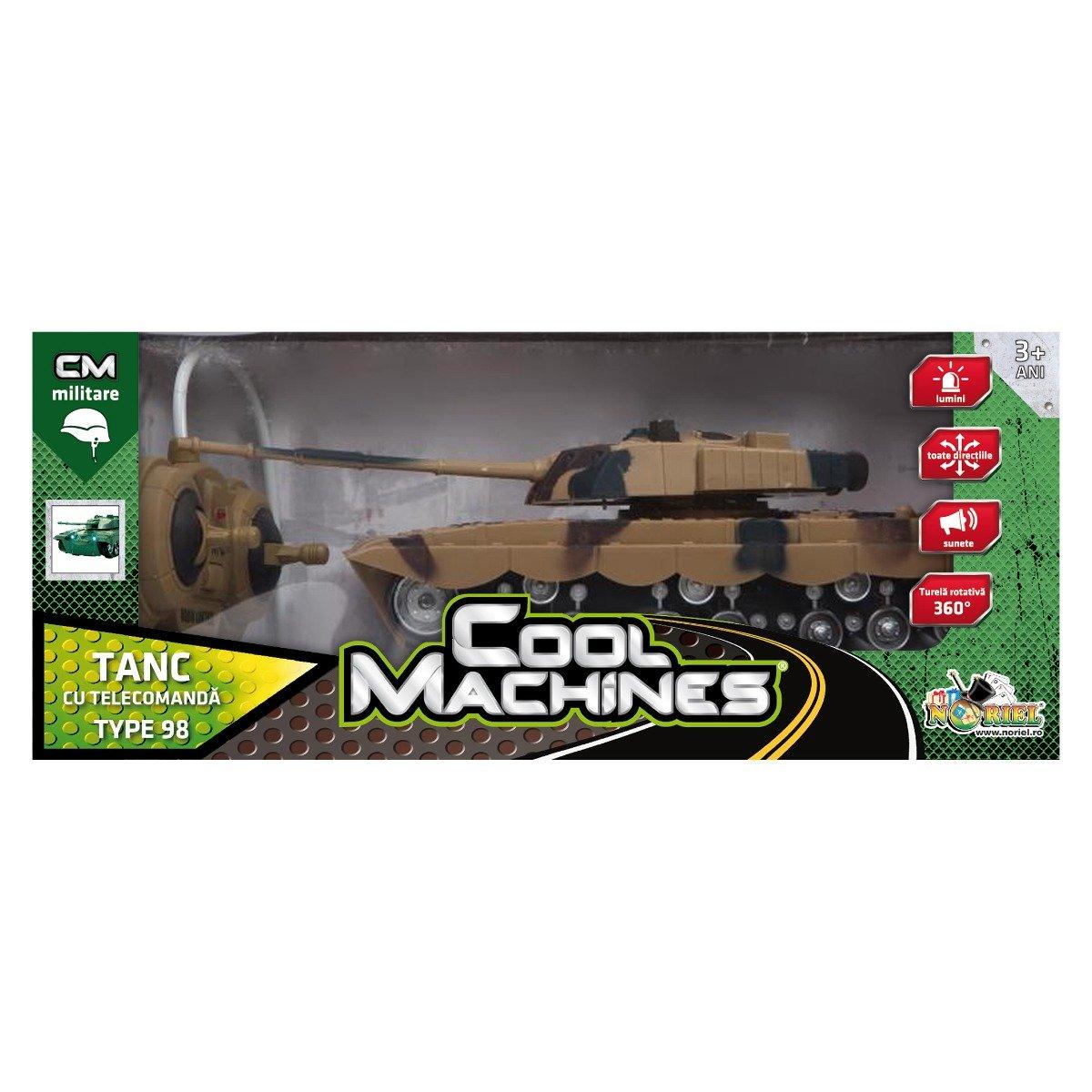 tanc tip 98 mare cu telecomanda cool machines noriel ii