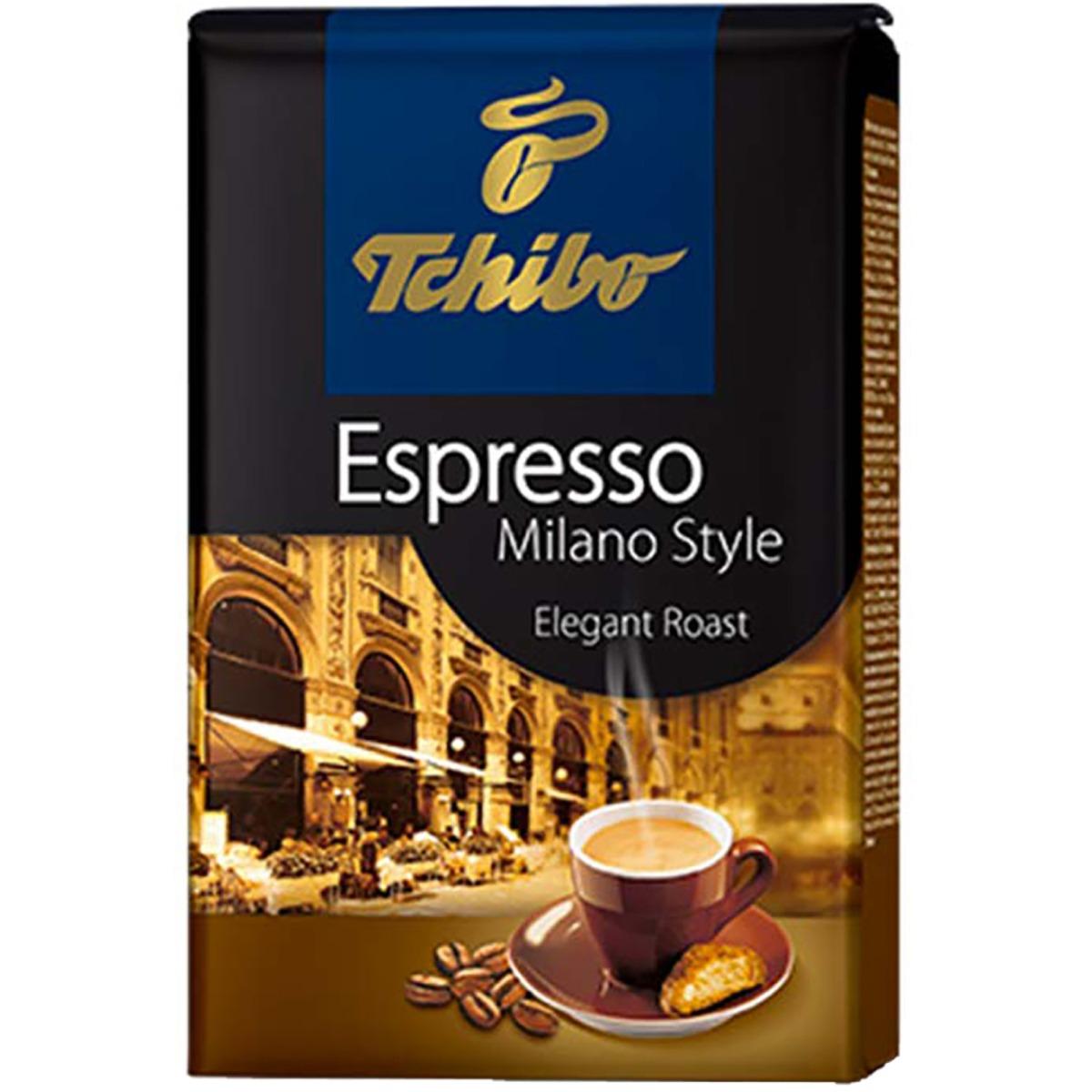 Cafea prajita boabe Tchibo Espresso Milano Style, 500 g imagine