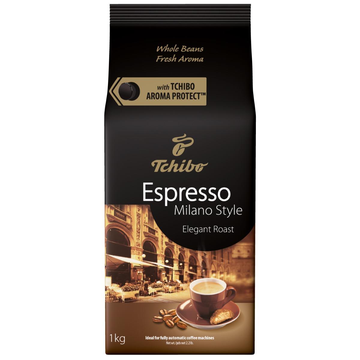 Cafea prajita boabe Tchibo Espresso Milano Style, 1 kg imagine
