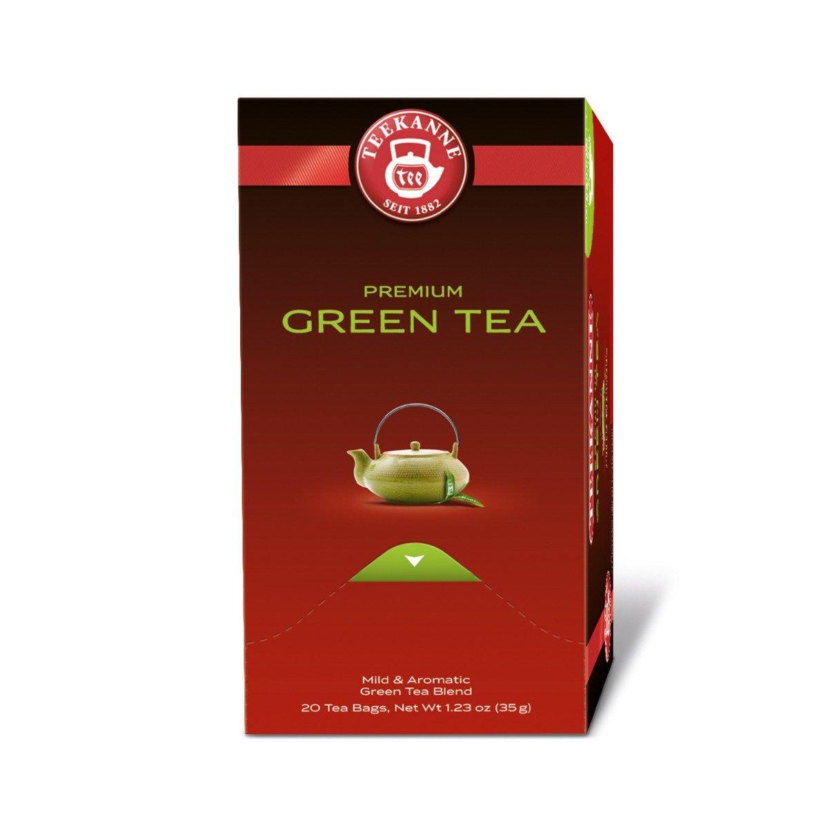 Cutie Ceai Green Tea Premium Teekanne, 1.75g x 20 pliculete imagine
