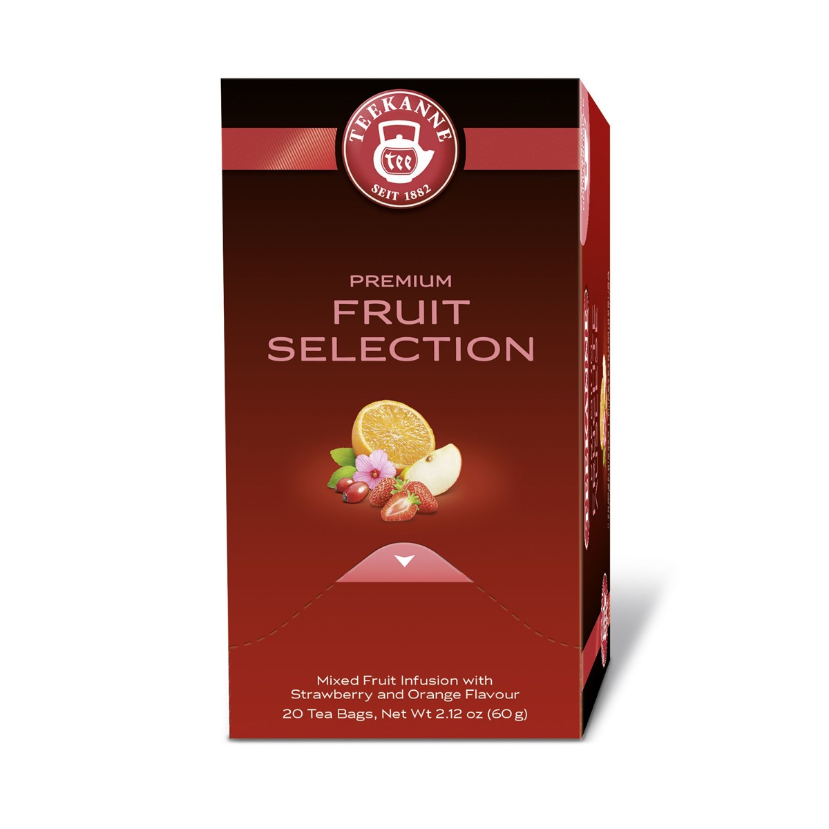 Cutie Ceai Fruit Selection Premium Teekanne, 3g x 20 pliculete imagine