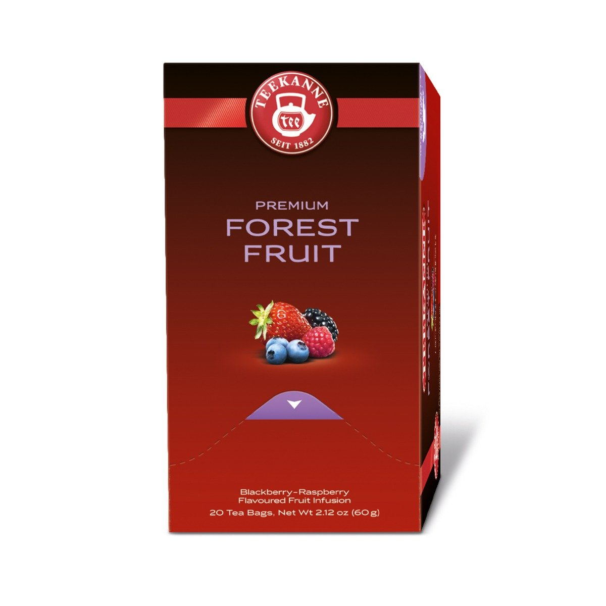 Cutie Ceai Forest Fruit Premium Teekanne, 3g x 20 pliculete imagine