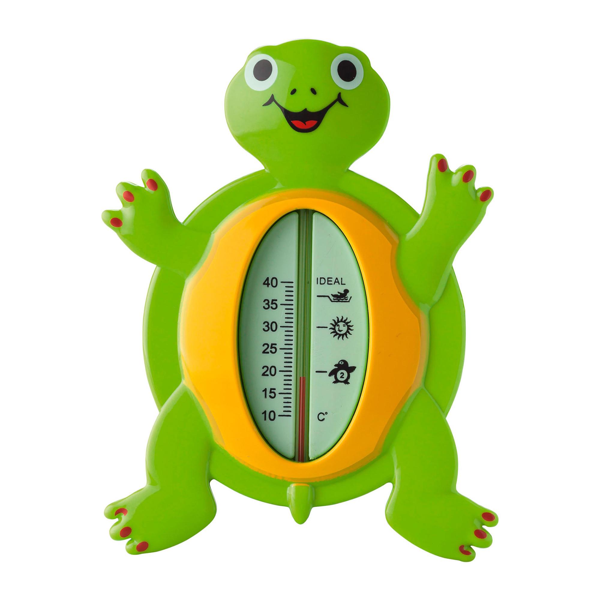Termometru pentru baie, Reer - Broasca testoasa imagine