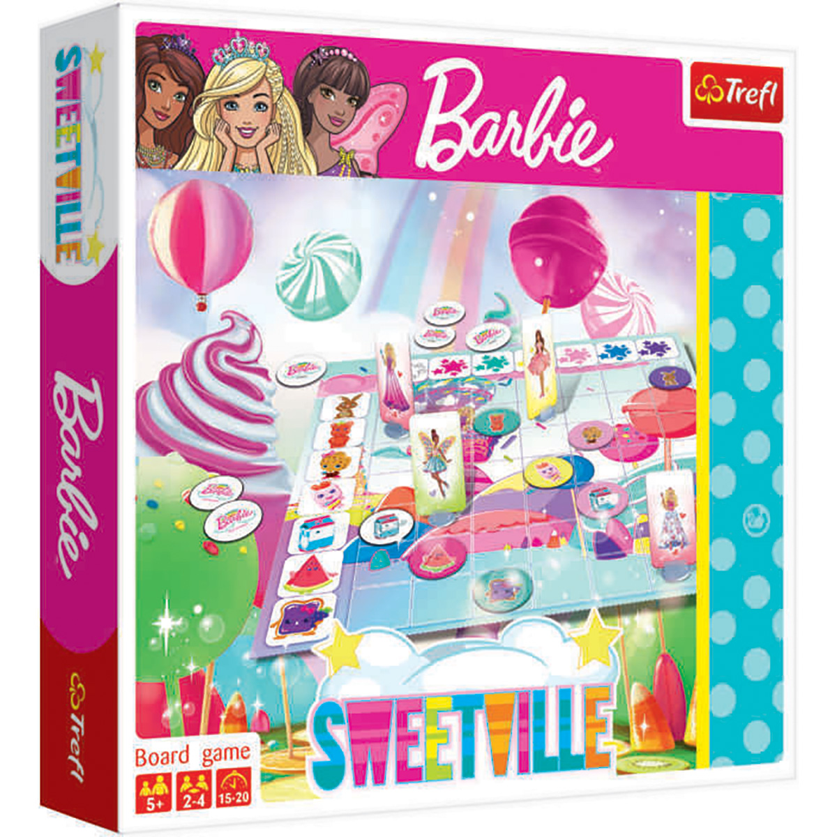 Joc de societate Trefl, Barbie Sweetville