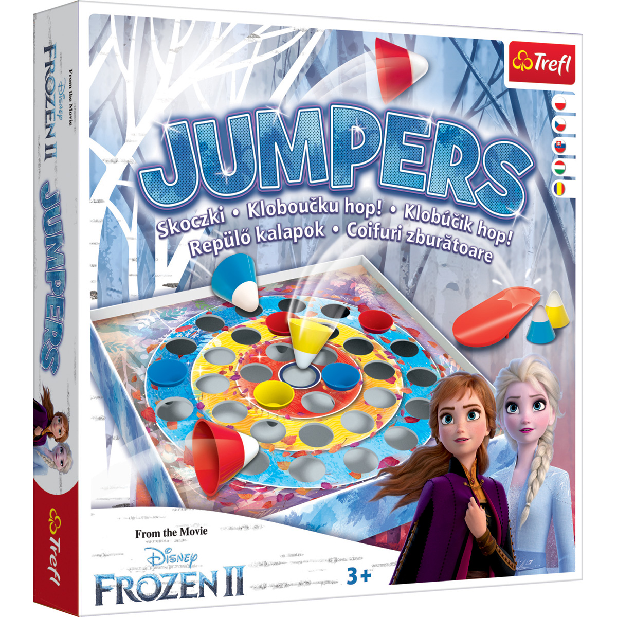 Joc de societate Trefl, Disney Frozen 2, Jumpers