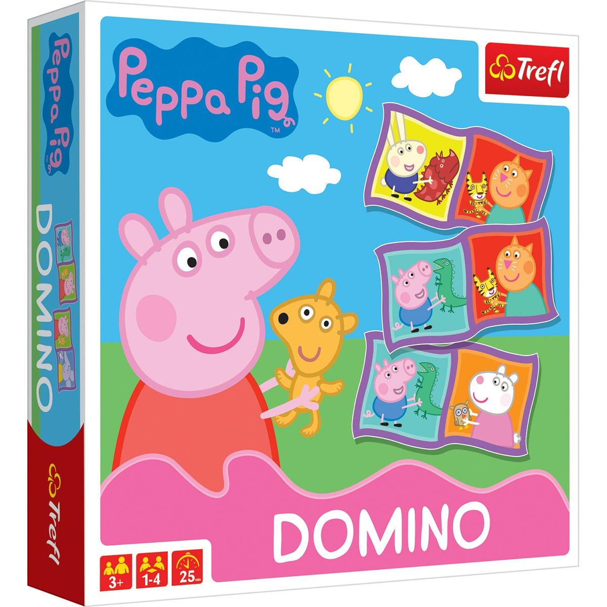 Joc de societate Trefl, Peppa Pig, Domino
