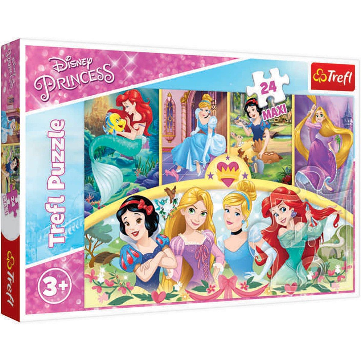 Puzzle Maxi Trefl, Disney Princess, Magia amintirilor, 24 piese