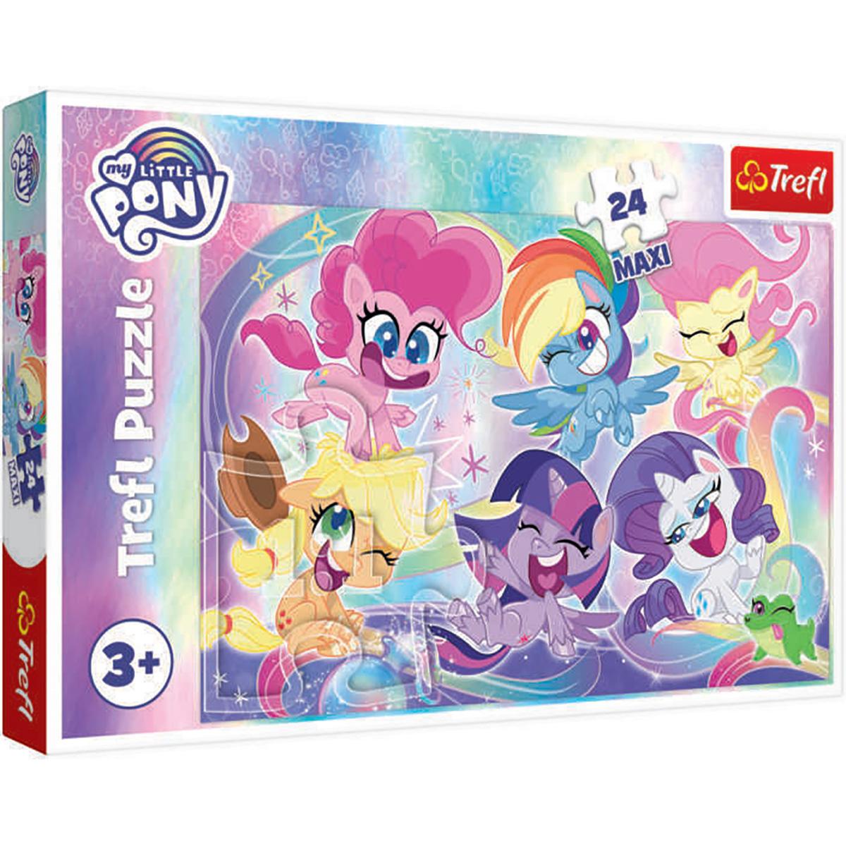 Puzzle Maxi Trefl, My Little Pony, Prietenia poneilor, 24 piese
