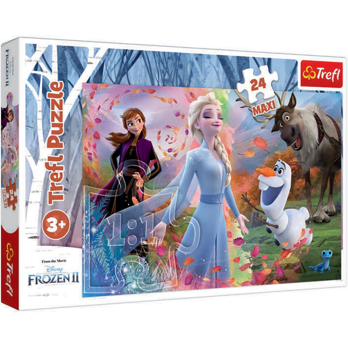 Puzzle Maxi Trefl, Disney Frozen 2, In cautarea aventurii, 24 piese