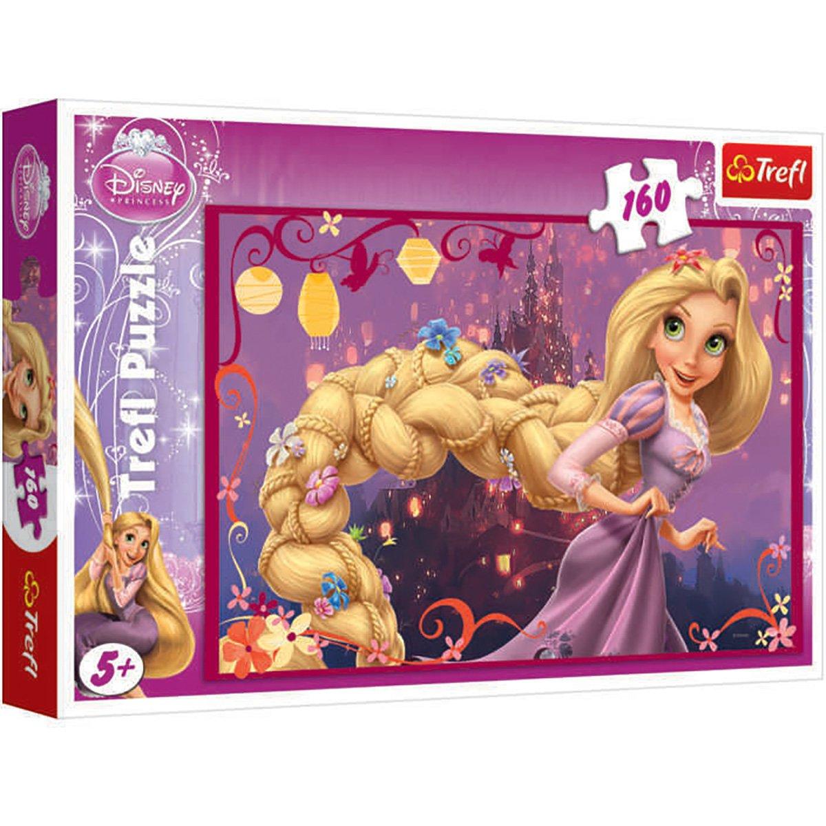 Puzzle Trefl, Disney Princess, Parul impletit a lui Rapunzel, 160 piese