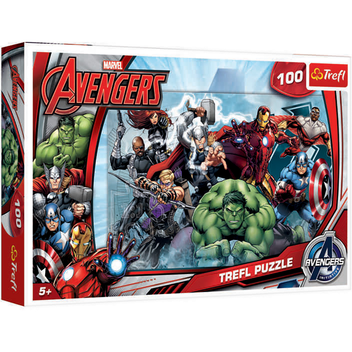 Puzzle Trefl, Avengers, La atac! 100 piese