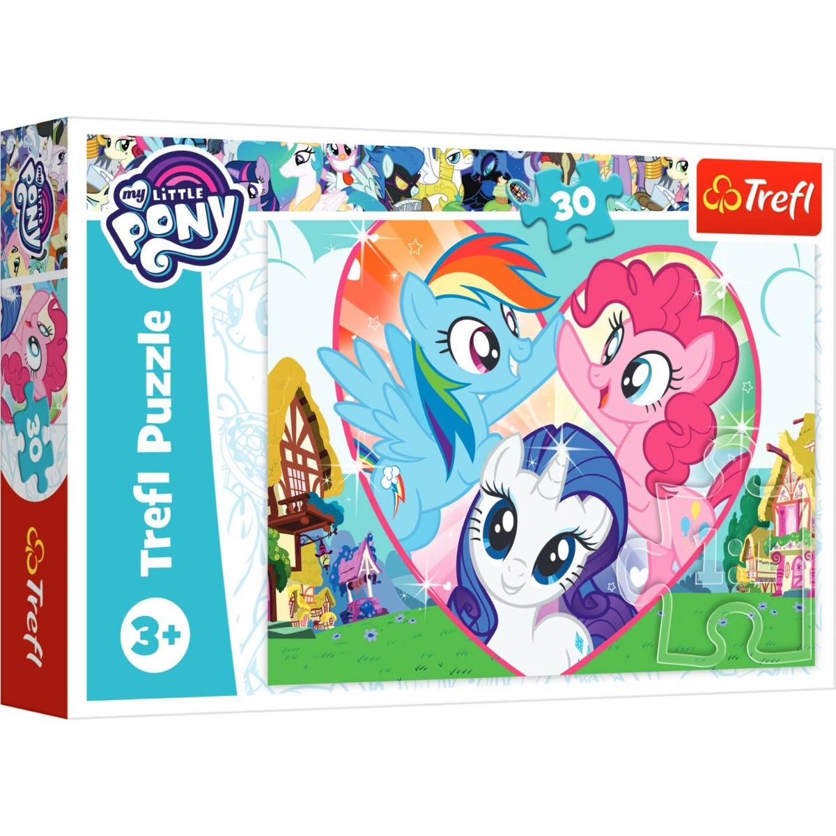 Puzzle Trefl 30 piese, Mai buni impreuna, My Little Pony