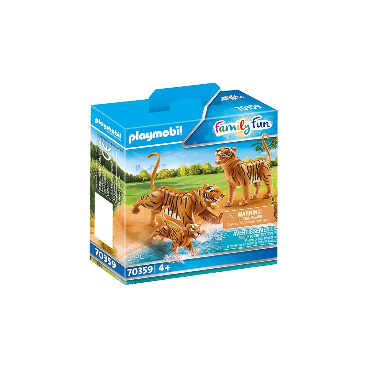 Set Playmobil Family Fun Large Zoo - Tigri cu pui