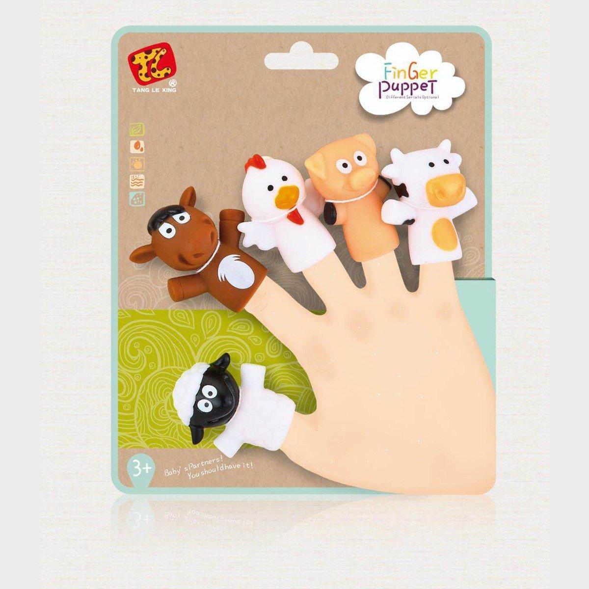 Jucarie de rol Finger Puppet, Animale Domestice