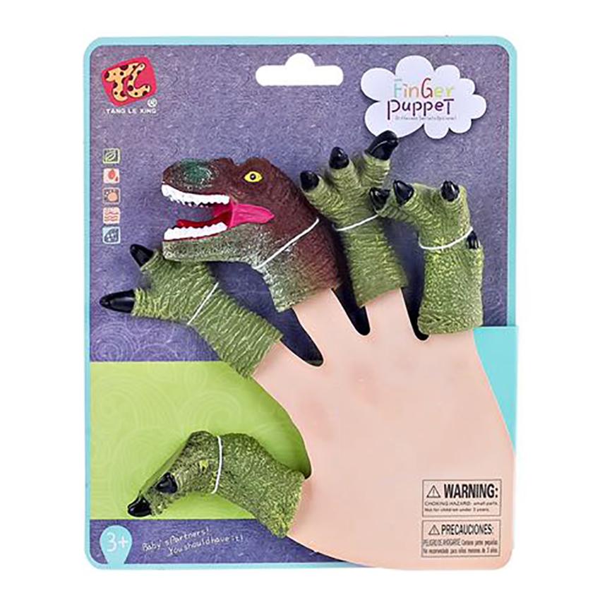Jucarie de rol Finger Puppet, Dinozauri