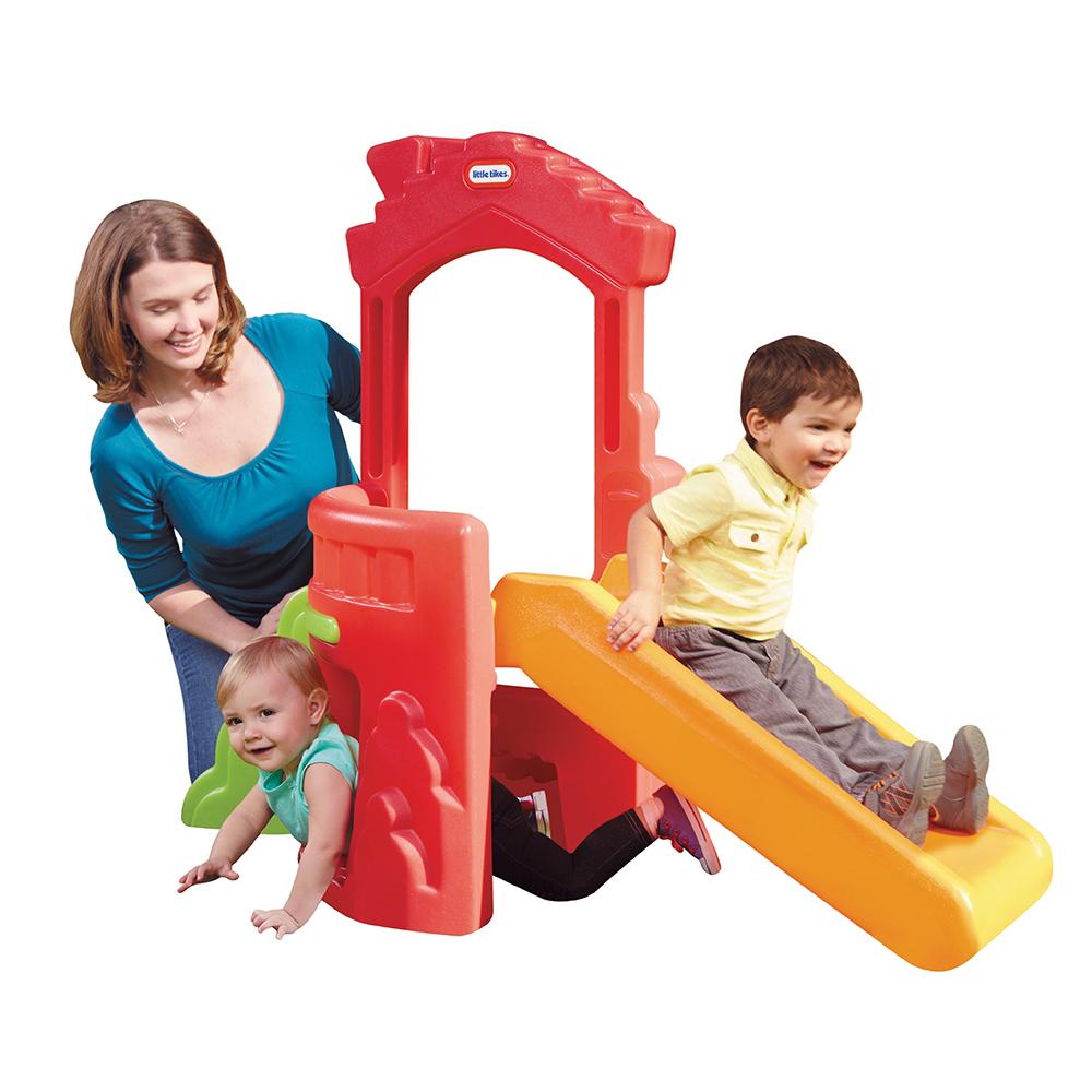 tobogan little tikes climb n' slide