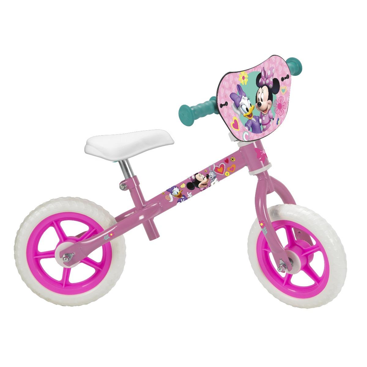 Bicicleta fara pedale Toimsa Minnie Mouse, 10 inch